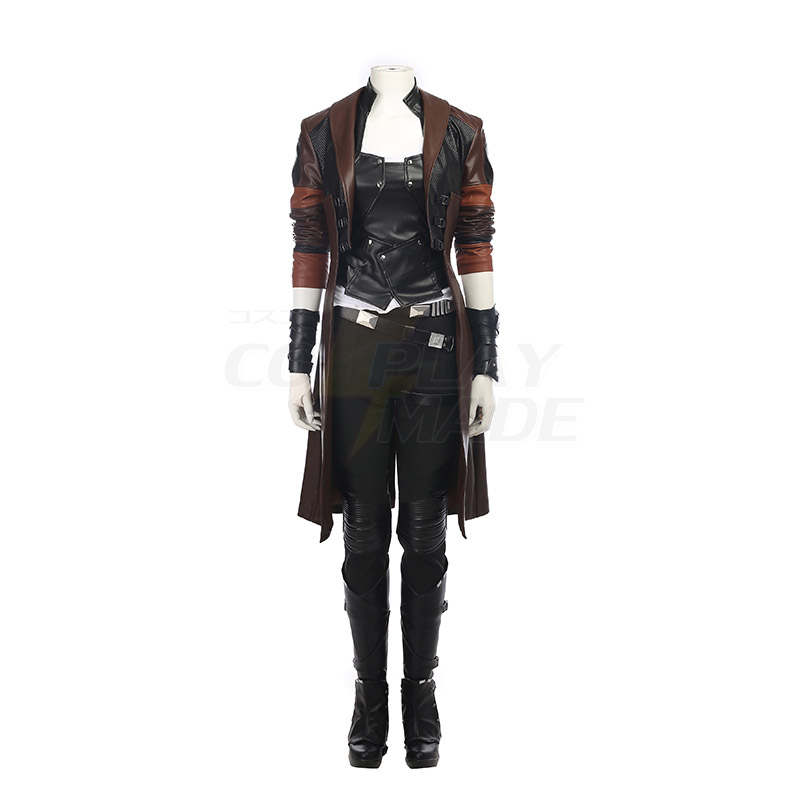 Guardians of the Galaxy 2 Gamora Zen Whoberi Ben Titan Cosplay Costume