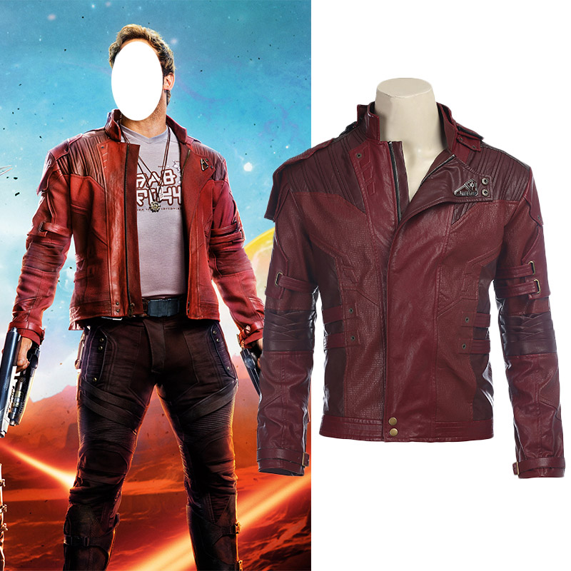 Guardians of the Galaxy 2 Star Lord Cosplay Jakke Karneval