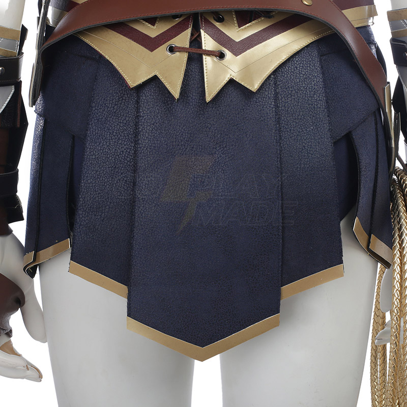 Marvel DC Comics Wonder Woman Cosplay Costumes Deluxe Edition