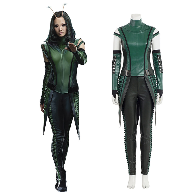 Guardians of the Galaxy 2 Marvel Comics Mantis Cosplay Kostym Karneval