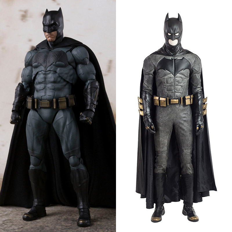 Justice League Batman Cosplay Kostymer Hele Settet Karneval