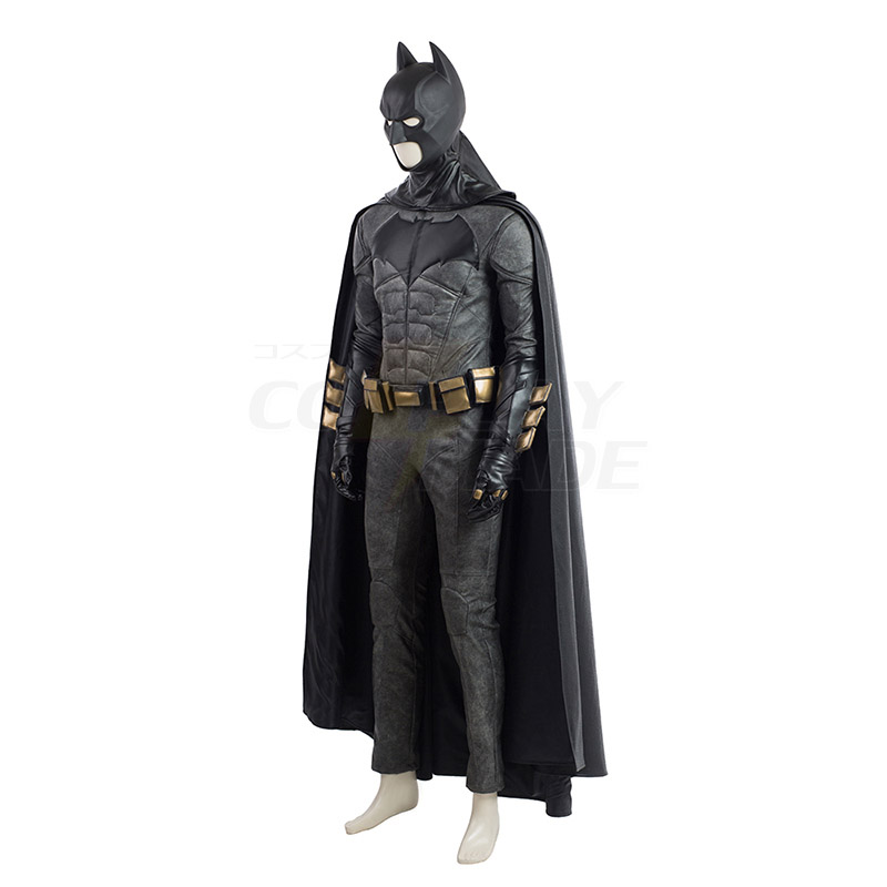 Justice League Batman Cosplay Costume Black