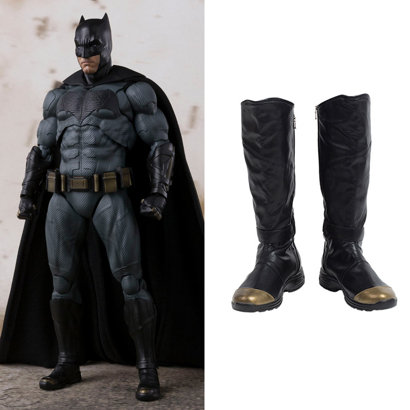 Justice League Batman Cosplay Chaussures Bottes Carnaval