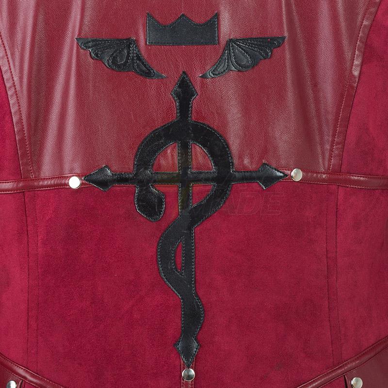 Film Fullmetal Alchemist Edward Elric Cosplay Jelmez Teljes Készlet Karnevál