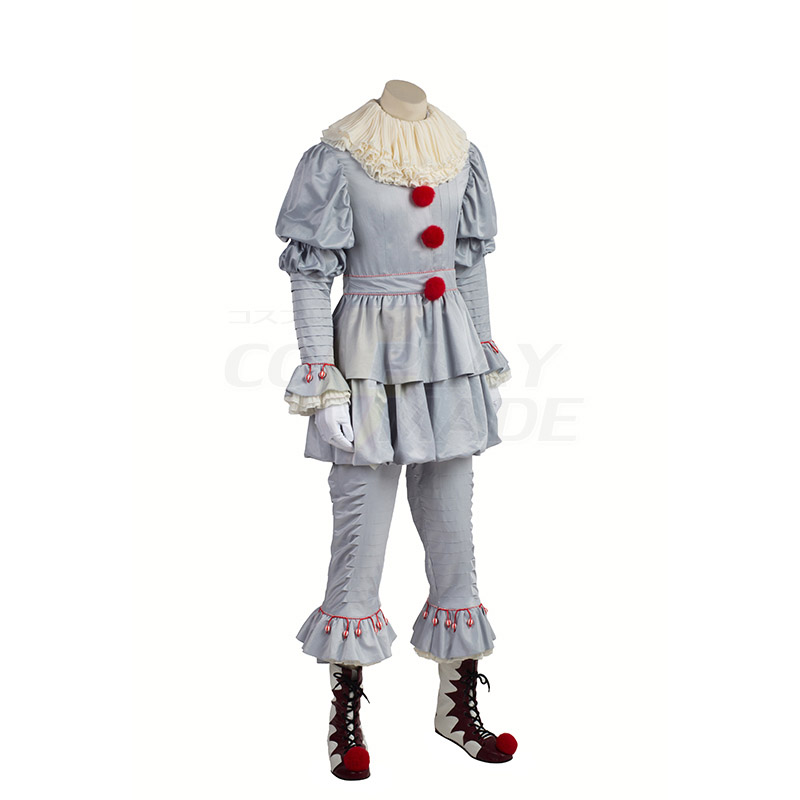Stephen King\'s It Pennywise Cosplay Costumes Full Set