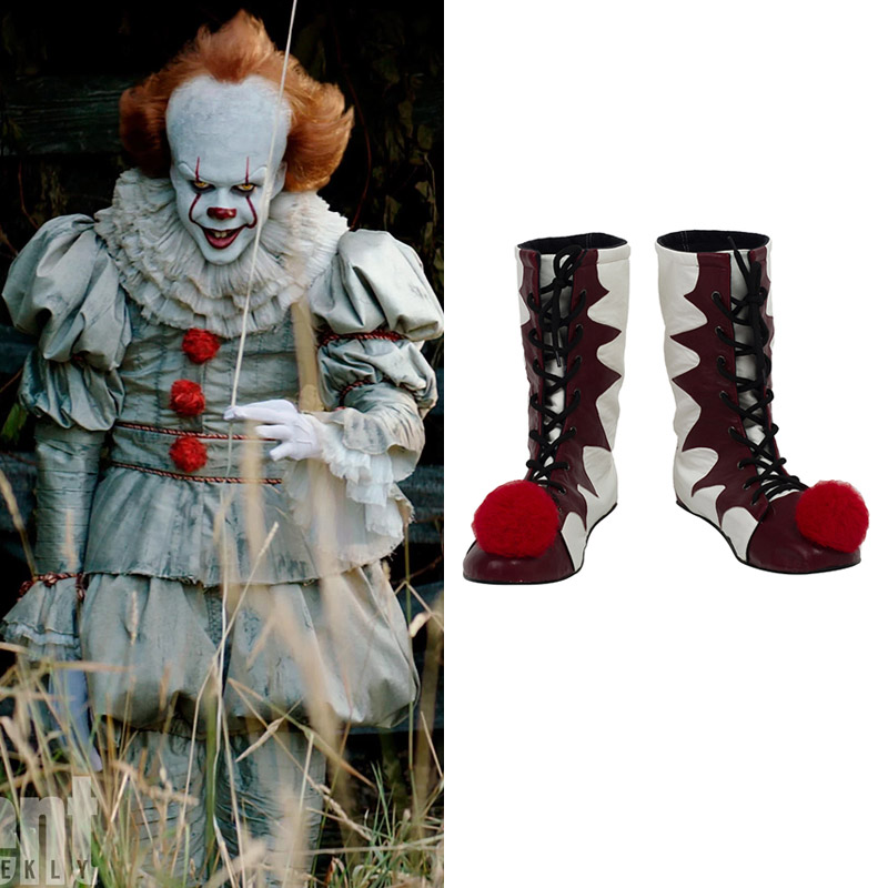 Stephen King's It Pennywise Cosplay Cosplay Sko Støvler Karneval