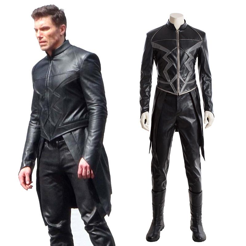 Marvel Inhumans Cosplay Jelmez Teljes Készlet Karnevál