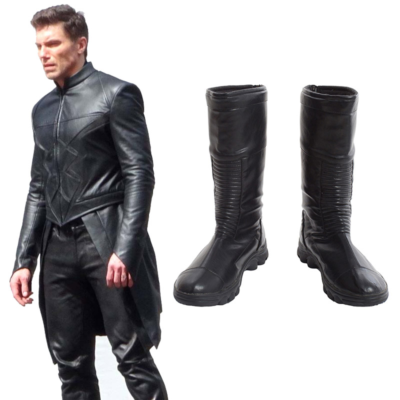 Marvel DC Comics Inhumans Cosplay Shoes Boots