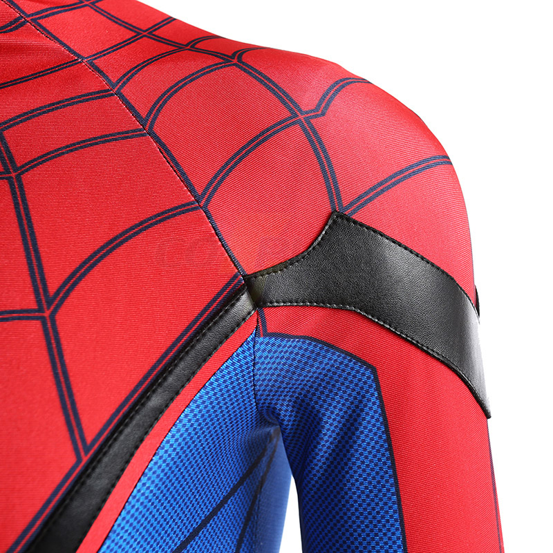 Spider-Man:Homecoming Spider Man Cosplay Costumes Full Set