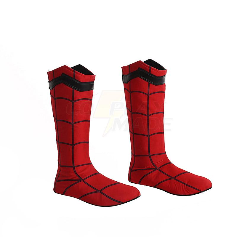 Pókember: Hazatérés Peter Parker Cosplay Cipő Csizma Karnevál