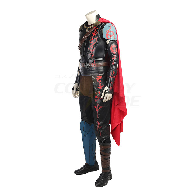 Marvel Thor: Ragnarok Thor Odinson Cosplay Jelmez Teljes Készlet Karnevál