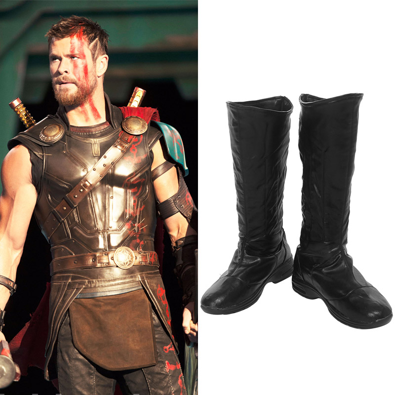 Marvel DC Comics Thor: Ragnarok Thor Odinson Cosplay Shoes Boots