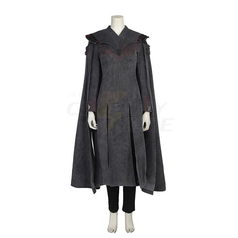 Game of Thrones Season 7 Daenerys Targaryen Cosplay Costumes Mother of Dragons