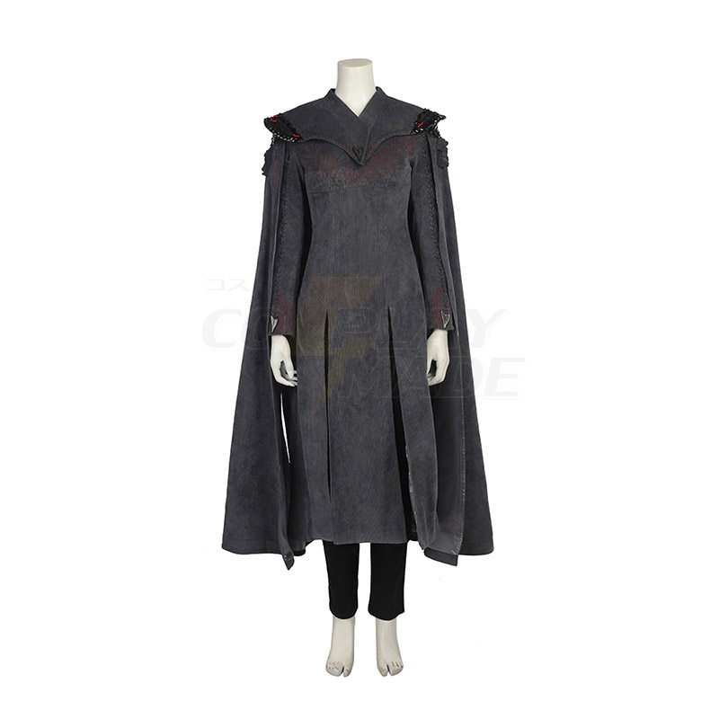 Game of Thrones Season 7 Daenerys Targaryen Cosplay Costumes Mother of Dragons