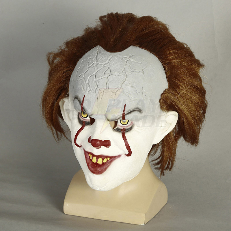 Stephen King\'s It Pennywise Cosplay Wigs Mask