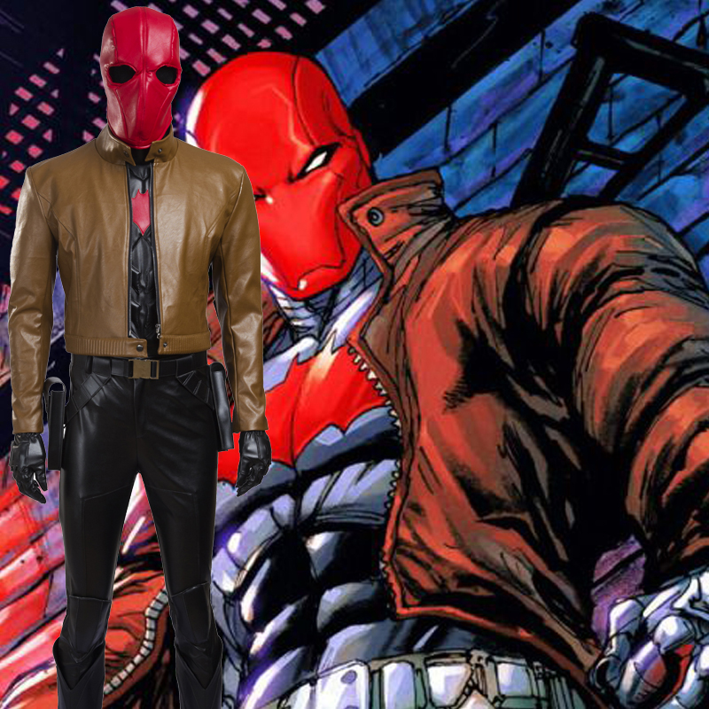 Batman Jason Todd Red Hood Cosplay Kostüme Halloween Kostüme Outfit Online Shop