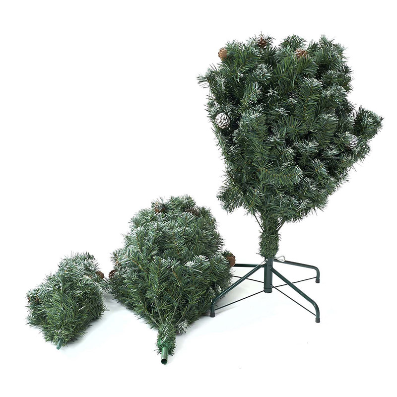 7.5\' Ft Christmas Tree Holiday Season Indoor Outdoor Matu Kasa Snow 180cm