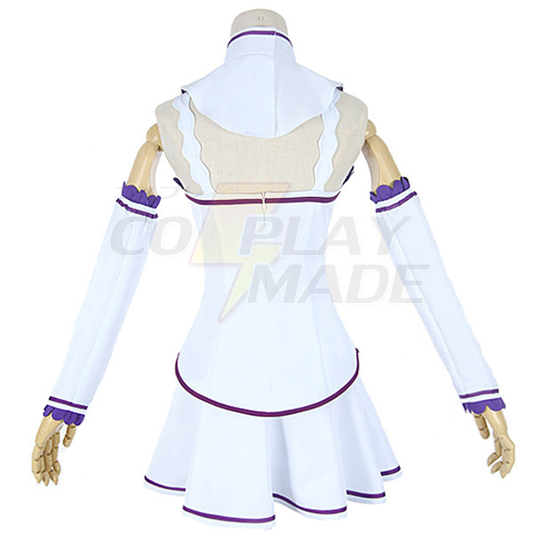 Re:Zero Life in a Different World from Zero Emilia Dress Cosplay Costume
