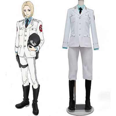 ACCA 13 Territory Inspection Dept Rail Cosplay Kostyme
