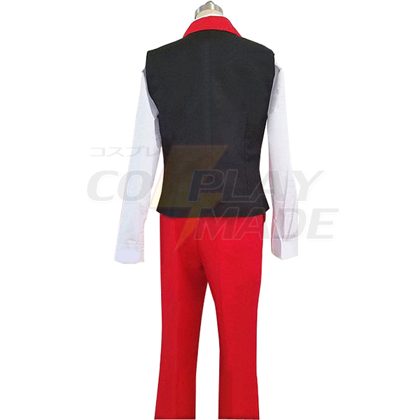 Ace Attorney Apollo Justice Cosplay Costume