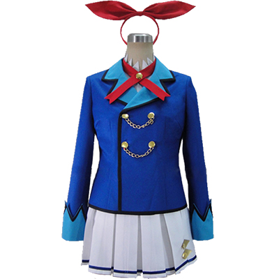 Aikatsu! Hoshimiya Ichigo Cosplay Costume Perfect Custom