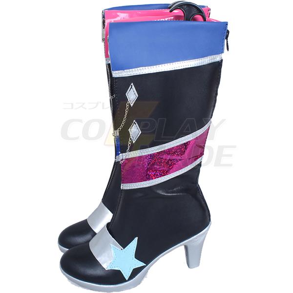 Aikatsu! Kurosawa Rin Cosplay Boots Perfect Custom Shoes