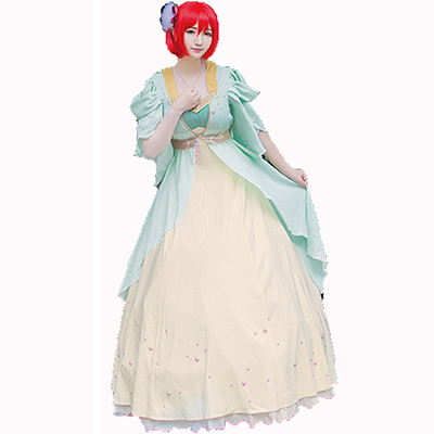 Akagami No Shirayukihime Shirayuki Dress Princess Cosplay Costume