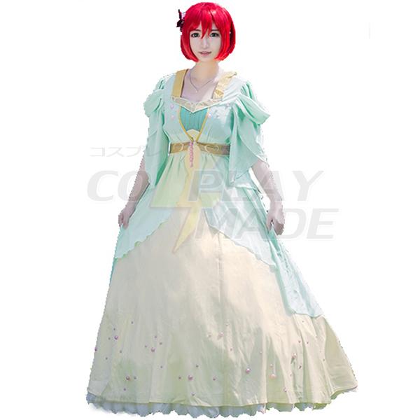 Costumi Akagami No Shirayukihime Shirayuki Vestito Principessa Cosplay
