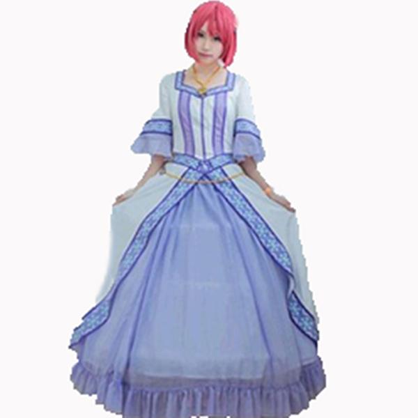 Costumi Akagami no Shirayukihime Snow White Shirayuki Principessa Cosplay