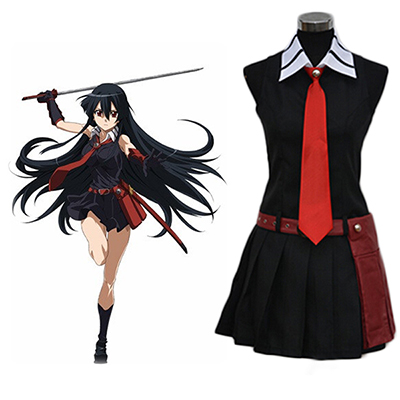 Fantasias de Akame ga Kill Night Raid Akame Cosplay