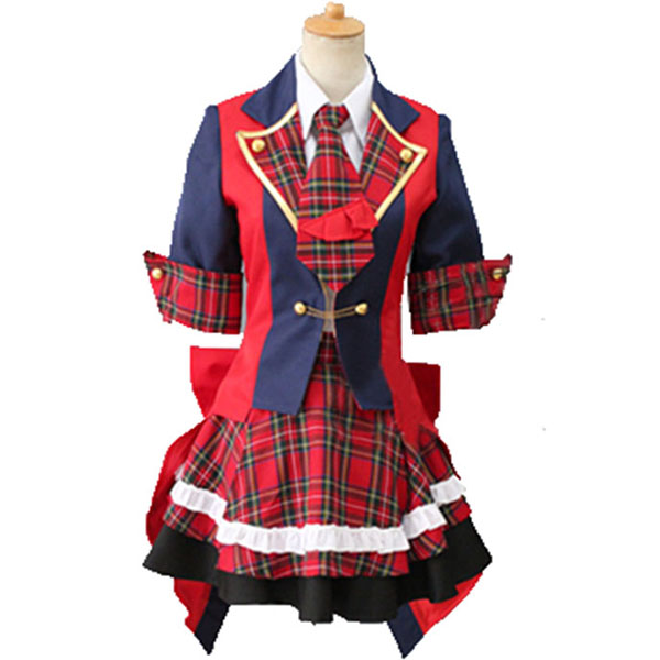 Disfraces AKB0048 Yuko Vestido Lolita Cosplay