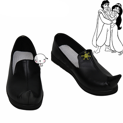 Zapatos Aladdin And The Magic Lamp Prince Cosplay Botas