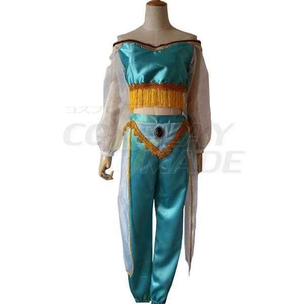 Disfraces Aladdin Jasmine Cosplay Princess