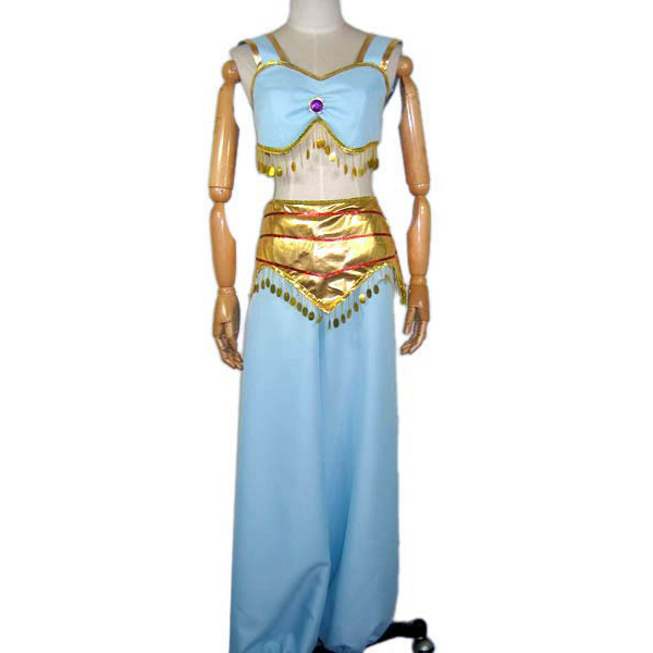 Aladdin Movie Cosplay Costume Aladdin Jasmine Aladdin Theme Costume