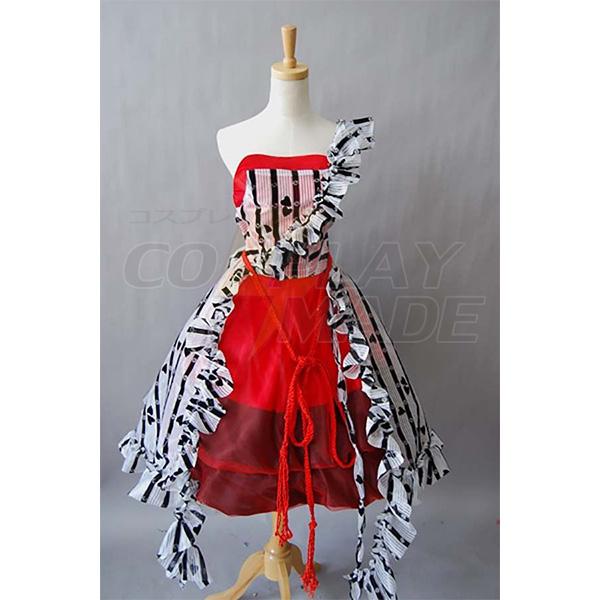 Disfraces Alice In Wonderland Tim Burton Cosplay Rojo