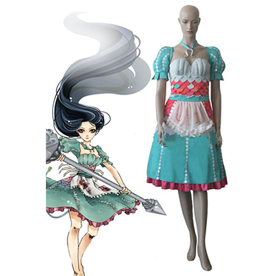 Costume Alice: Madness Returns Alice Robes Cosplay Déguisement