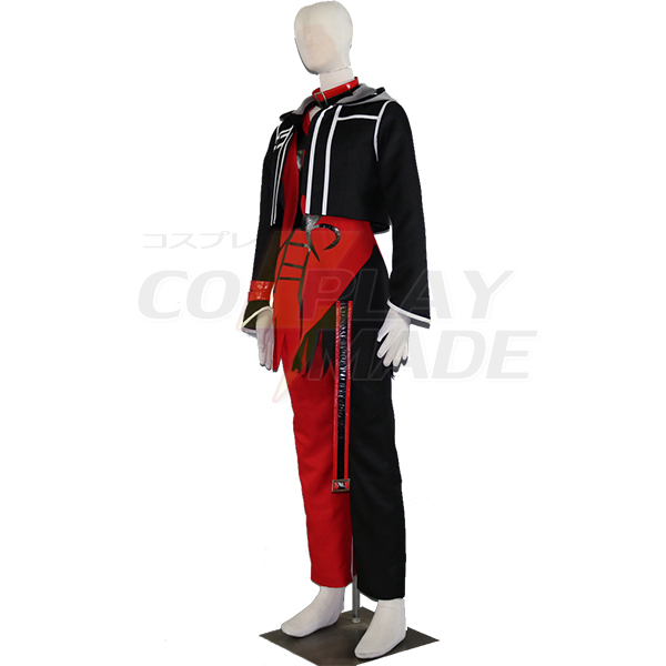 Amnesia heart Shin Cosplay Costume Red Tailor Made