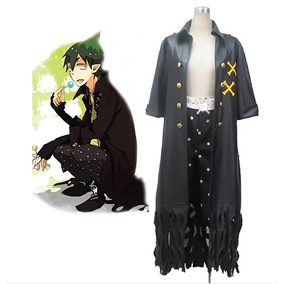 Costume Blue Exorcist King of the Earth Amaimon in Comic Cosplay Déguisement