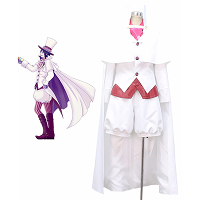 Blue Exorcist Mephisto Pheles Cosplay Costume Custom Made