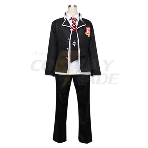 Disfraces Azul Exorcist Okumura Rin True Cross Academy Uniforme Cosplay