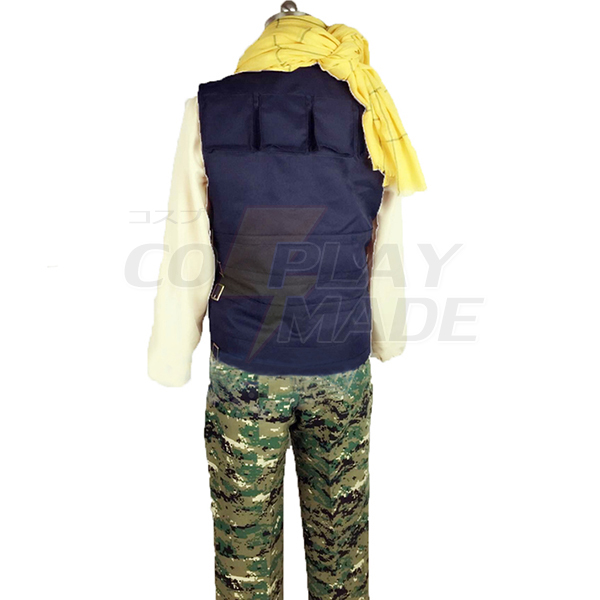 Aoharu X Kikanjuu Aoharu X Machinegun Yukimura Tooru Fighting Cosplay Costume