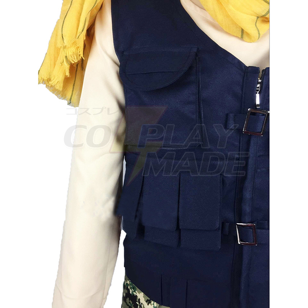 Costumi Aoharu X Kikanjuu Aoharu X Machinegun Yukimura Tooru Fighting Cosplay