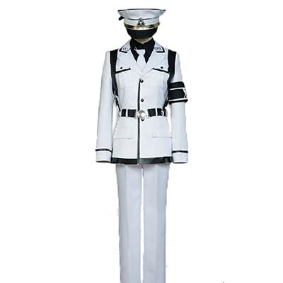 Aoharu X Kikanjuu Aoharu X Machinegun Nagamasa Midori Cosplay Kostyme