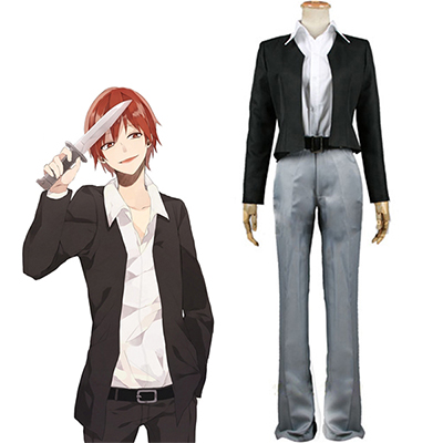 Assassination Classroom Class 3-E Karma Akabane Cosplay Kostym
