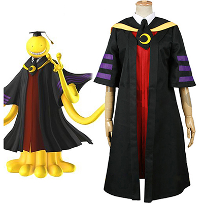 Assassination Classroom Class 3-E Teacher Koro-sensei Cosplay Kostym