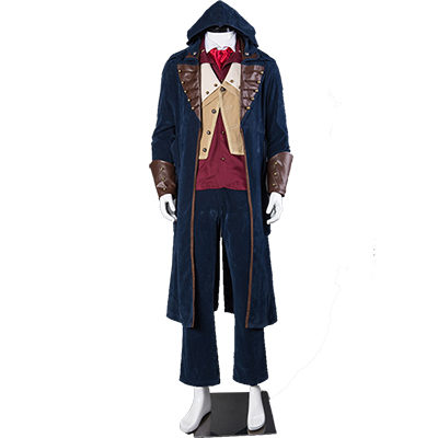 Assassin's Creed 5 Arno Victor Dorian Cosplay Costume Full Set