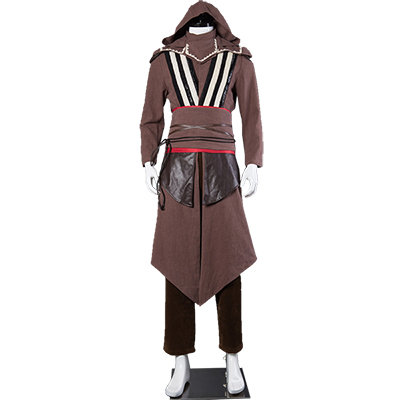 Assassin's Creed Aguilar Callum Lynch Cosplay Kostym Hela Uppsättningen
