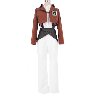 Attack on Titan Shingeki no Kyojin Military Police Cosplay Kostym