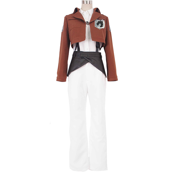 Costumi Attack on Titan Shingeki no Kyojin Military Police Cosplay