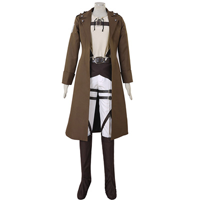 Attack on Titan Shingeki no Kyojin Eren Jaeger Cosplay Kostym